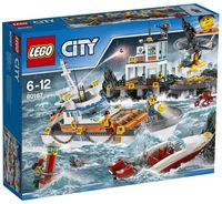 "LEGO City ""Штаб береговой охраны"""