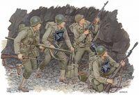 """Набор миниатюр """"U.S. Rangers Normandy 1944"""" (масштаб:1/35)"""