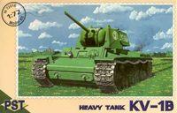 Тяжёлый танк КВ-1Б (масштаб: 1/72)