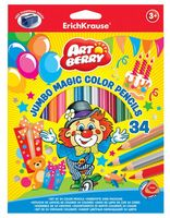 """Набор карандашей цветных """"Artberry. Jumbo"""" (34 цвета)"""