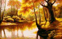 """Вышивка крестом """"Осенний этюд"""""""