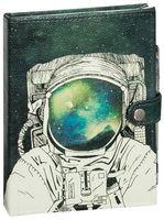 """Блокнот с белой бумагой """"Космонавт"""" нелинованный"""