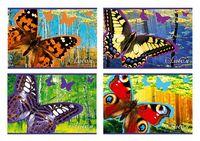 """Альбом для рисования """"Прекрасные бабочки"""" (А4; 48 листов)"""