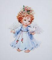 """Папертоль """"Ангел в голубом"""" (90х120 мм)"""