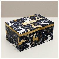 """Подарочная коробка """"Новогоднее волшебство"""""""