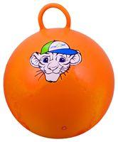 """Мяч-попрыгун """"Тигрёнок"""" (55 см; с ручкой; оранжевый)"""