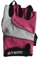 Перчатки велосипедные AGC-07 (L; розовые)