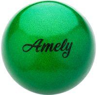 Мяч для художественной гимнастики AGB-103 (19 см; зелёный)