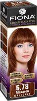 """Крем-краска для волос """"Fiona"""" (тон: 6.78, махагон)"""