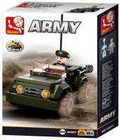 """Конструктор """"Армия. Джип"""" (83 детали)"""