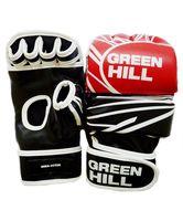 Перчатки MMA-0055R (L; красно-чёрно-белые)