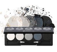 """Палетка теней для век """"Color Palette Eye Shadow"""" (тон: 005, black dust)"""