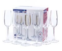 """Бокал для шампанского стеклянный """"Allegresse"""" (6 шт.; 175 мл)"""