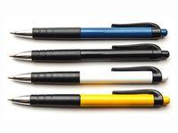Ручка шариковая автоматическая (синий стержень; арт. 6505)