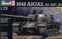 "Танк ""M48 A2/A3"" (масштаб: 1/72)"