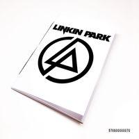 "Блокнот белый ""Linkin Park"" А7 (070)"