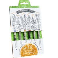 """Набор для выращивания растений """"Растущий карандаш. Прованские травы"""" (цветные; 6 шт.)"""