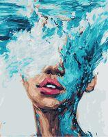 "Картина по номерам ""Океан мыслей"" (400х500 мм)"
