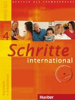 Schritte international 4. Kursbuch + Arbeitsbuch + CD