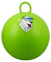 """Мяч-попрыгун """"Медвежонок"""" (65 см; с ручкой; зелёный)"""