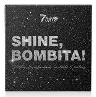 """Палетка теней для век """"Shine, Bombita. С глиттером"""" (арт. ВСД108)"""