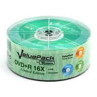 Диск DVD+R 4.7Gb 16x Traxdata (Ritek) ValuePack Bulk 25