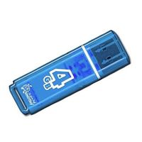 USB Flash Drive 4Gb SmartBuy Glossy series (Blue)