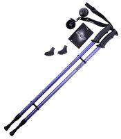 Палки для скандинавской ходьбы 2-секционные Longway (77-130 см; темно-синие)