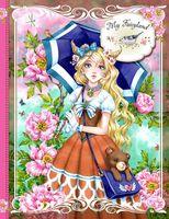 """Блокнот """"My Fairyland (розовый)"""" (А5)"""