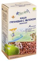 """Детская каша Fleur Alpine Organic """"Молочная гречневая с яблоком"""" (200 г)"""