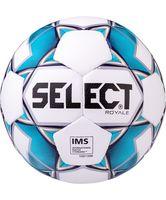 """Мяч футбольный Select """"Royale"""" №5 (бело-синий)"""