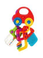 """Музыкальная игрушка """"Машинка с ключиками"""" (со светом и прорезывателями)"""