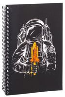 "Блокнот в клетку ""Космонавт"" A5 (1359)"