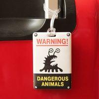 "Бирка на багаж ""Животные"""