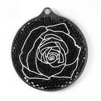 """Фликер """"Роза"""" (черный; арт. 51012.20)"""