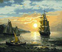 """Картина по номерам """"Тихая гавань"""" (400х500 мм)"""
