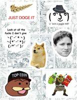 "Набор виниловых наклеек №123 ""Memes"""