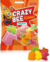 """Конфеты жевательные """"Crazy Bee Gummi. Puzzlies"""" (100 г)"""