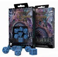 """Набор кубиков """"Azathoth"""" (16 мм; сине-черный; 7 шт.)"""
