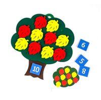 """Развивающая игрушка """"Дерево с листьями"""""""