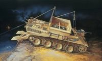 """Ремонтно-эвакуационная машина """"SD.KFZ.179 Bergepanther"""" (масштаб: 1/35)"""
