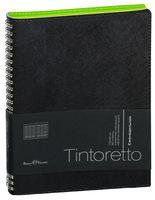 """Ежедневник недатированный """"Tintoretto"""" (B5; черный)"""