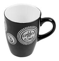 """Кружка керамическая """"Coffee Time"""" (320 мл; черная)"""