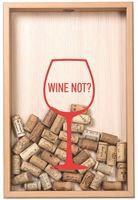 "Копилка для винных пробок ""Wine not?"" (бук)"