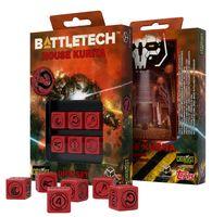 """Набор кубиков D6 """"Battletech. House Kurita"""" (6 шт.; красный)"""