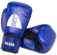 """Перчатки боксёрские """"Silver"""" BGS-2039 (12 унций; синие)"""