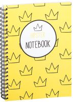 "Блокнот в клетку ""Hipster notebook"" (A5; арт. 1366)"