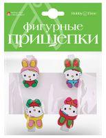 """Набор прищепок декоративных """"Зверушки"""""""