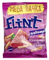 """Сухарики пшенично-ржаные """"Flint. Салями"""" (110 г)"""