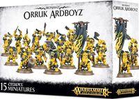 Warhammer Age of Sigmar. Ironjawz. Orruk Ardboyz (89-21)